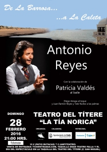 Cartel de Antonio Reyes